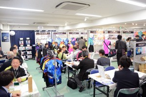 春の卓球メーカー展示会2