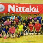 近藤先生の卓球講習会 集合写真